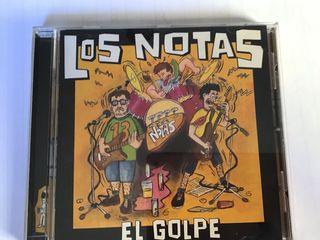 """LOS NOTAS CD """"EL GOLPE"""""""