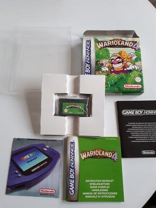warioland 4 game Boy advance