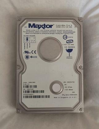disco duro Maxtor ultra ATA IDE apple macintosh