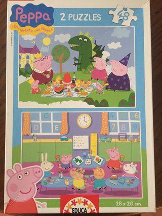 Puzzle Peppa Pig.