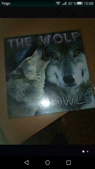 The wolf - howls disco vinilo discoteca chocolate