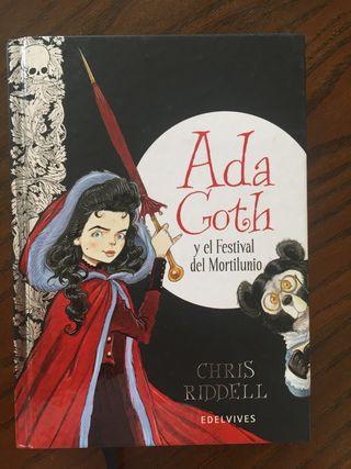 Libro Ada Goth. El festival del Mortilunio