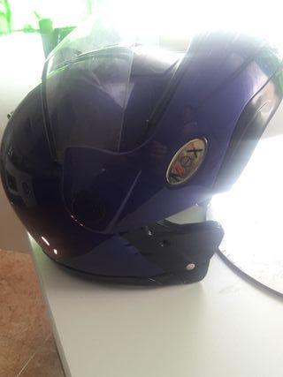 casco moto seminuevo