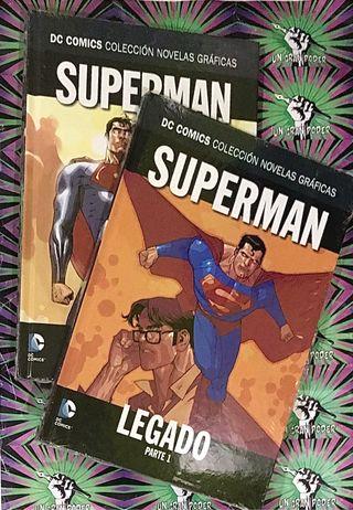 NOVELAS GRÁFICAS DC SUPERMAN LEGADO