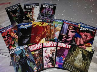 Lote Cómics DC y Marvel