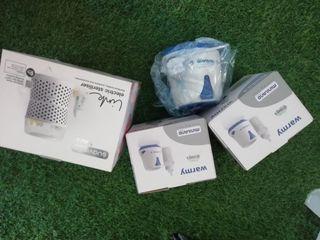 Pack de 2 calienta-biberones y esterilizador