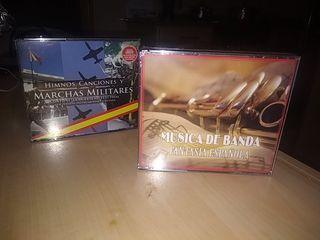 CDs música española y marchas militares