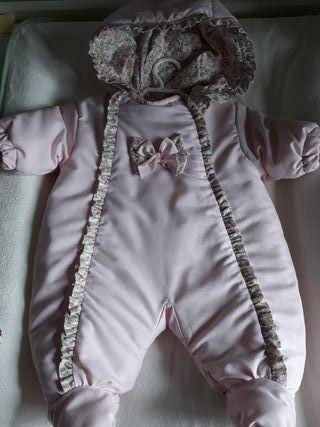 buzo bebe 1 mes