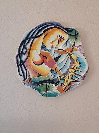 Platos decorativos de pared