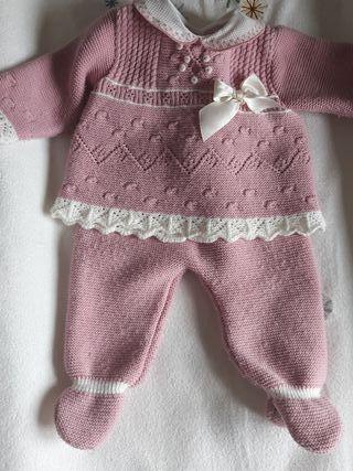 conjunto lana de 3 meses