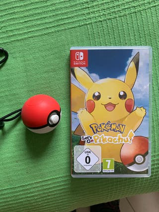 pokemon lets go pikachu + pokeball