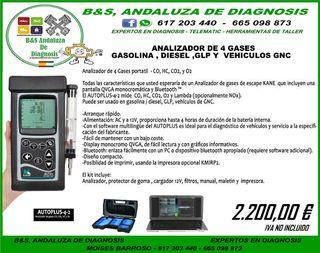 ANALIZADOR DE GASES PROFESIONAL