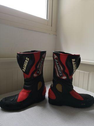 botas de motorista RAINERS para mujer, talla37