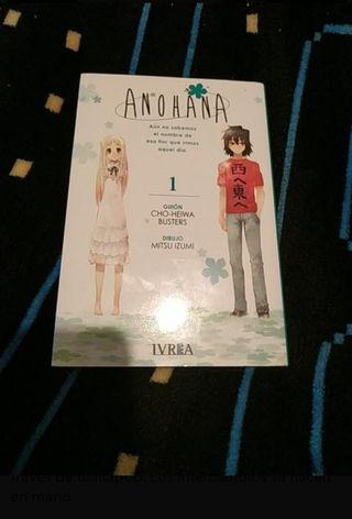 Anohana. Tomo 1. Cómic manga