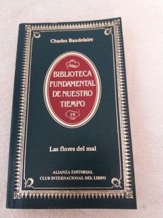 Libro poesía Charles Baudelaire Las Flores del Mal