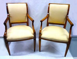 dos cl sicos sillones ingleses tapizados de segunda mano
