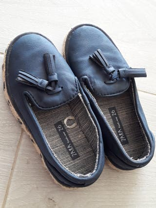 zapatillas de esparto niño