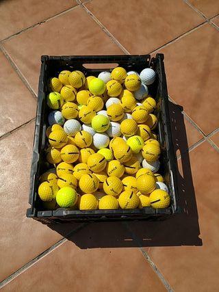 170 pelotas de golf