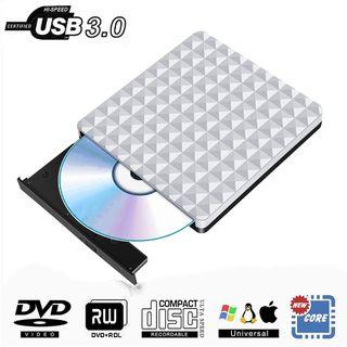 Grabador/Lector DVD y CD Externa USB 3.0. NUEVO
