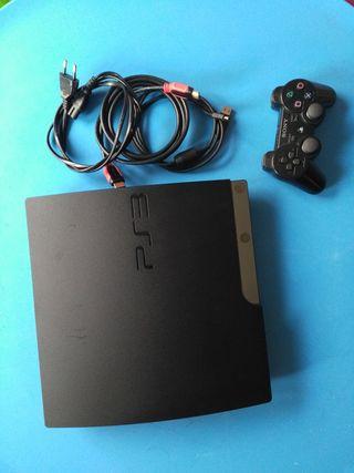 Playstation + mando + juegos
