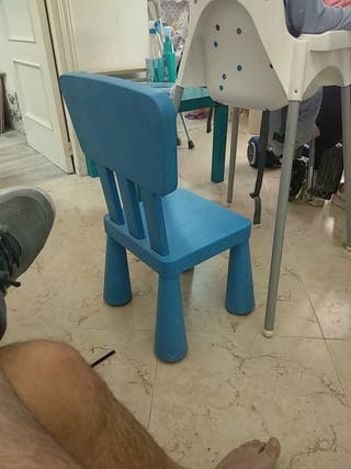 Azul En Fuenlabrada € Wallapop 8 Silla Por De Segunda Mano Ikea 0XOP8knw