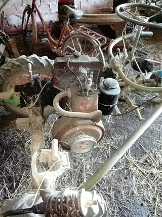máquina de segar hierba