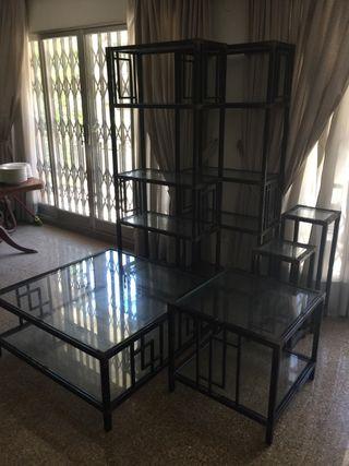 Conjunto muebles salón 6 piezas
