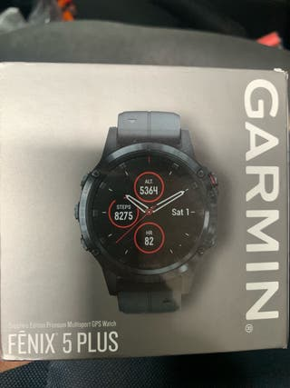 Garmin fénix 5 plus zafiro