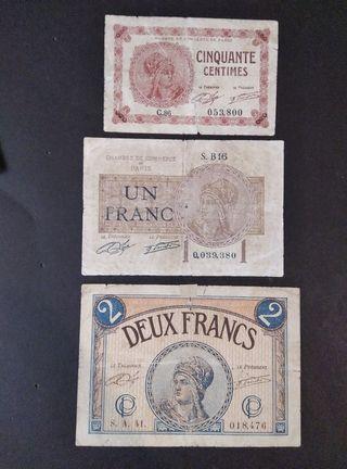 Lote Francia antigua.