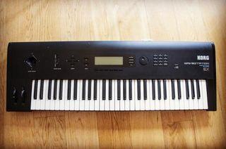korg wavestation ex sintetizador