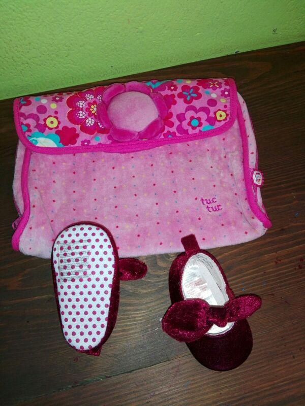 porta pañales y zapatos