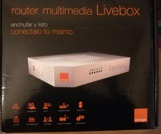 Router wifi multimedia Live Box
