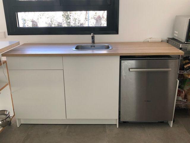 Mueble de cocina con fregadero Ikea de segunda mano por 90 € en ...
