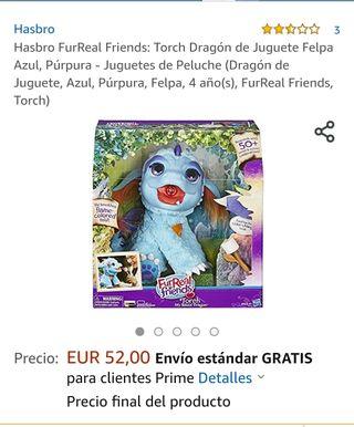 FurReal friends dragón azul