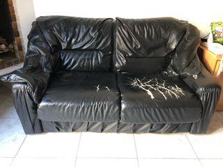 Sofa de piel muy comoda