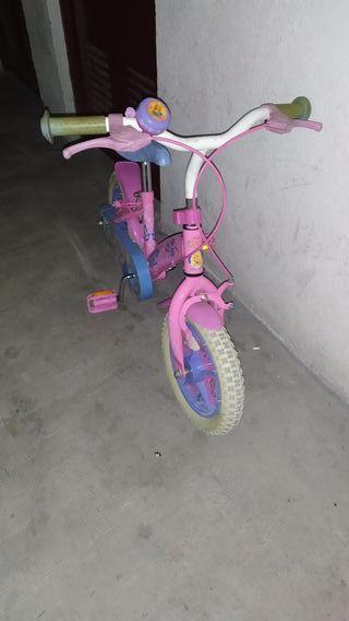 """Bici niña 12"""" pulgadas"""