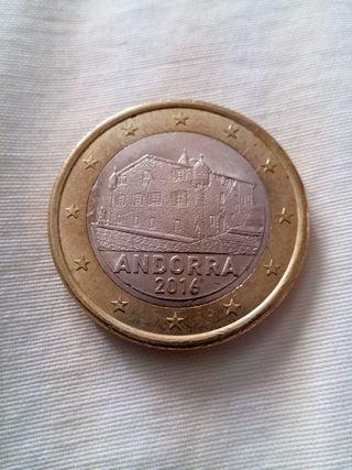 Moneda 1€ Andorra 2016