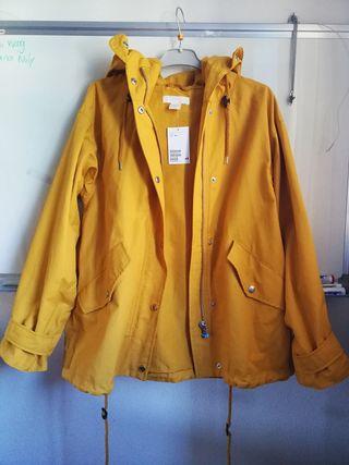 chaqueta ESTRENAR parka HyM/anorak/abrigo cazadora