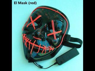 Máscara nueva luz led xd