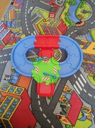Circuito de coches para niños