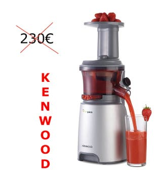 Kenwood Extractor de zumos prensado lento NUEVO