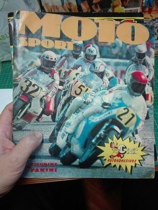MOTO SPORT ALBUM CROMOS 1979