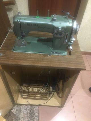 Máquina de coser singer y hexagon