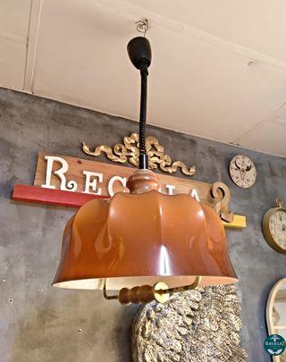 Lámpara Vintage Techo 42cm Diámetro