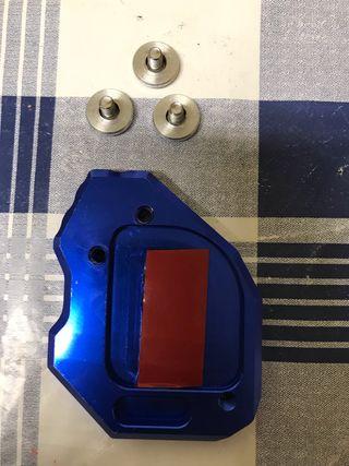 Placa ampliación pata de Cabra/ caballete BMW F800
