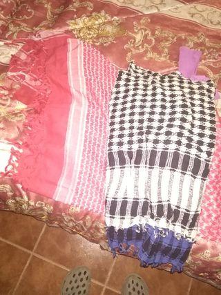 2 pañuelo s palestinos cuatro camisetas Tintoretto