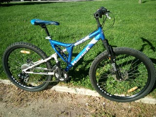 """Bicicleta 26"""" unisex aluminio, talla SM"""