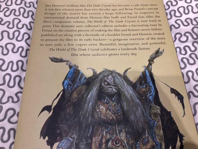 Libro The world of the dark crystal de Brian Froud
