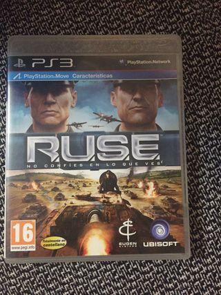 juego ps3 ruse