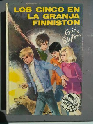 """24 libros """"Los cinco"""" de Enid Blyton, edición 1972"""